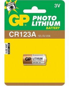 Lithium batterij 3 volt staaf DL123A CR123A  EL123A lithium Duracel GP 13061