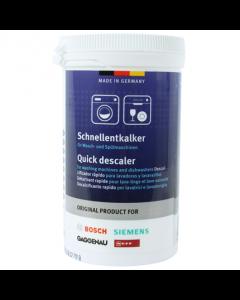 Ontkalker antikalk voor wasmachines vaatwasser afwasautomaten origineel Bosch Siemens 16019