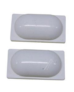 Kapje rubber 2 stuks electrisch fornuis  kookplaat origineel Siemens Bosch 6168