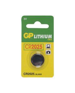 Knoopcel CR2025 lithium origineel GP 3054