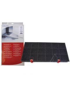 Filter koolstof origineel 43 x 21.5 x 3cm afzuigkap Zanussi Electrolux 7138