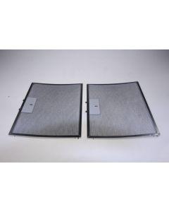 Filter metaal afzuigkap set van 2 stuks 295x240mm  Whirlpool Bauknecht IKEA 6972