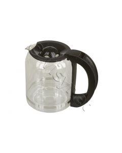 Koffiekan zwart koffiezetter Domo 2299