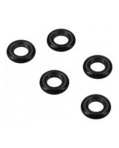 O-ring: 7 x 7 x 2 mm zwart ( 5st) dichting koffie espresso origineel Siemens Bosch 16237