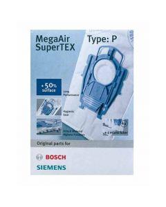 Stofzuigerzakken feeze type P  Ergomax Siemens Bosch 761