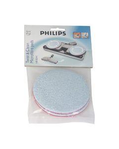 Pads set TWIST & CLEAN hr8041 stofzuiger Philips 1235