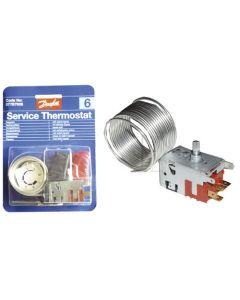 Thermostaat diepvries DANFOSS no 6/-46 THERMOSTAAT Danfoss 1613