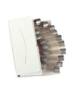 Glas zekering 6x32mm 10A flink 250v electro 1703