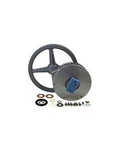 Lagerset compleet met wielen wasmachine AEG 3142