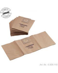 Stofzuigzakken 10 stuks Professional stofzuiger T201 Karcher 5508