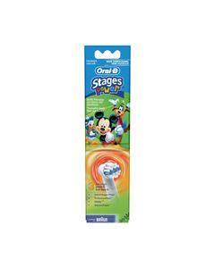 Opzet borstel kind Disney Mickey OPZETBORSTELS - STAGES POWER - EB10/3  3 stuksorigineel Braun 2506