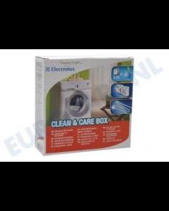Ontkalker snelontkalker en reiniger extra sterk 500 gram voor wasmachine en vaatwasser Electrolux  Universeel 14386