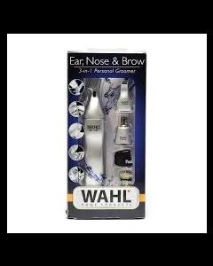 Neus oor wenkbrauw trimmer Tondeuse Wet & Dry batterij zilverkleurig Wahl Moser  4917