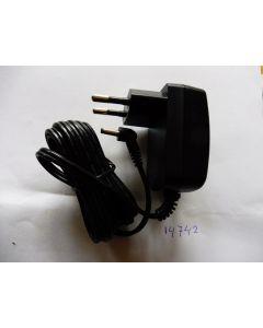 Adapter lader haartrimmer tondeuse E856E, E863E, E865E, E865IE, E866E, E867E, E868E Babyliss 14742