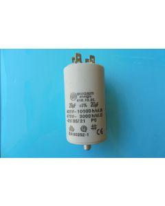 Condensator  aanloop 7.2x4 cm  20 UF universeel 305 x