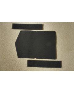 Vervangend Filterset a 3 filters deur wasdroger Miele  4817