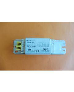 Transformator 12V  1 x 18 WATT afzuigkap G806/1 Novy Itho 15167