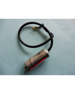 Condensator metaal 2.5 UF met aansluitkabel Universeel 15479