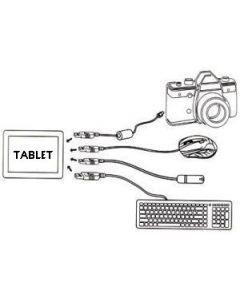 Aansluitkabel connectiekabel Micro-USB Spez 8351
