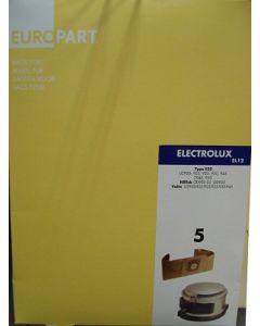 Stofzuigerzak fleeze 10 stuks E22 stofzuiger Electrolux Nilfisk 9426
