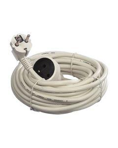 Verleng kabel 10m penaarde wit Universeel 4510