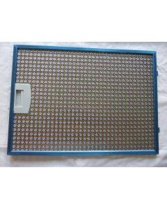 Filter metaal  37.5X27.5 cm afzuigkap Siemens Bosch 6214